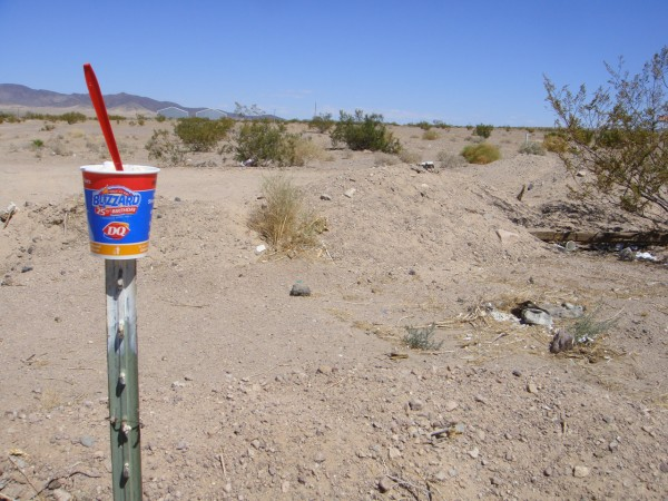 Dessert in the Desert. The best blizzard in the history of DQ