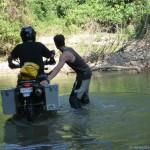 07 drz watercrossing