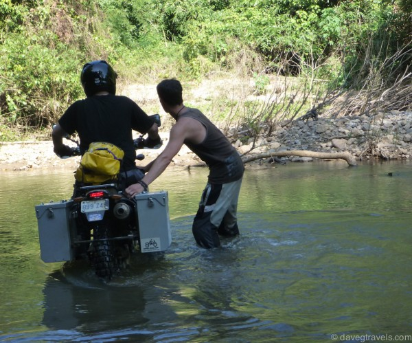 drz watercrossing adventure touring