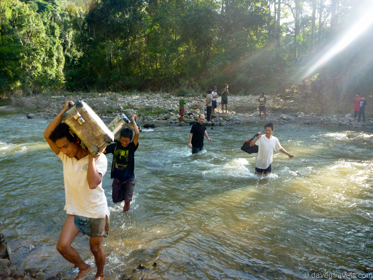 10 Ktm Se Panniers Crossing River Daveg Travels