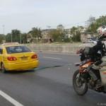 ktm 950se being towed