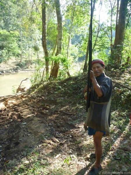 Thailand Hilltribe hunter