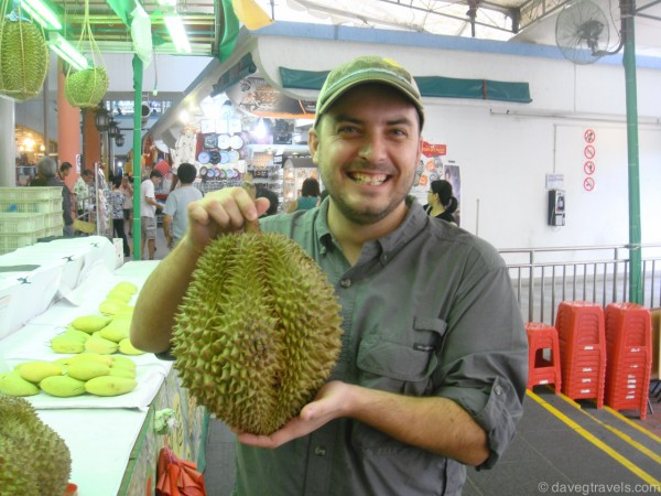 The worst part about Singapore. Durian fruits are everywhere!!
