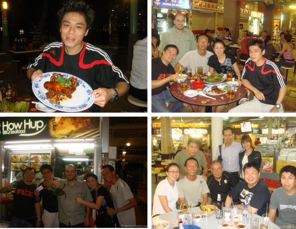 James treated us to easily the best meal of my trip and one of the best meals of my life. It was a seafood feast ranging from Chili Crab to fried calamari. The 4th frame is from another night out with the biker crew