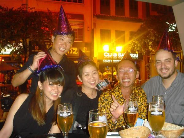 Fun night out in Singapore