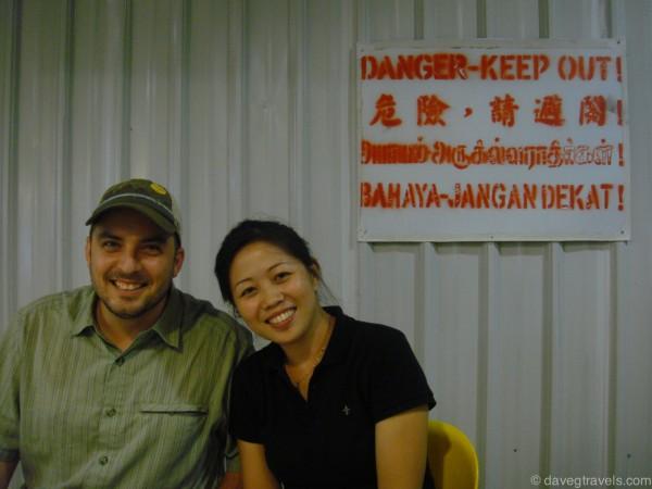 Danger in 4 languages