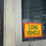Singapore Signs – Long Vechile on a bus