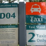 Singapore Signs – Taxi Rules