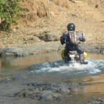 12 deep water crossing Laos