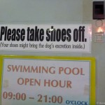 01 -Your Shoes Might Bring the Dogs Excretion Inside