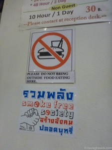 02 -Do Not Bring Outside Food