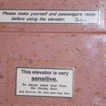 03 – Elevator is very Sensitive
