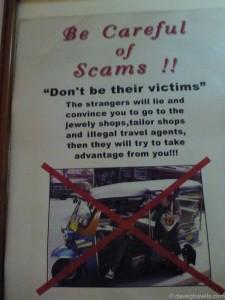 08 - Tuk Tuk Scam Hotel Sign